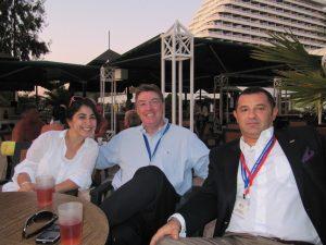 Brian with seminar leaders